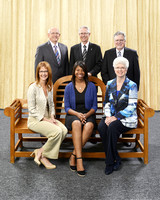 Image 6_Gaelle Mardy with Board of Directors for The Jim Moran Foundation